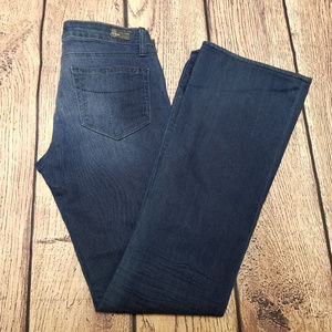 Paige Laurel Canyon Flare Leg Jeans Sz 27 XLA Dark